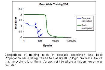 Research: Neural Networks: C a s c a d e C o r r e l a t i o n