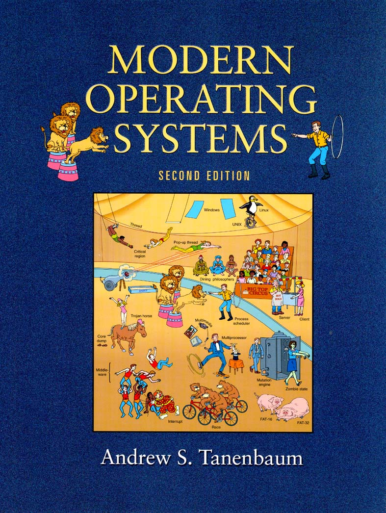 Tanenbaum's Modern OS book has the best cover ever  [PIC
