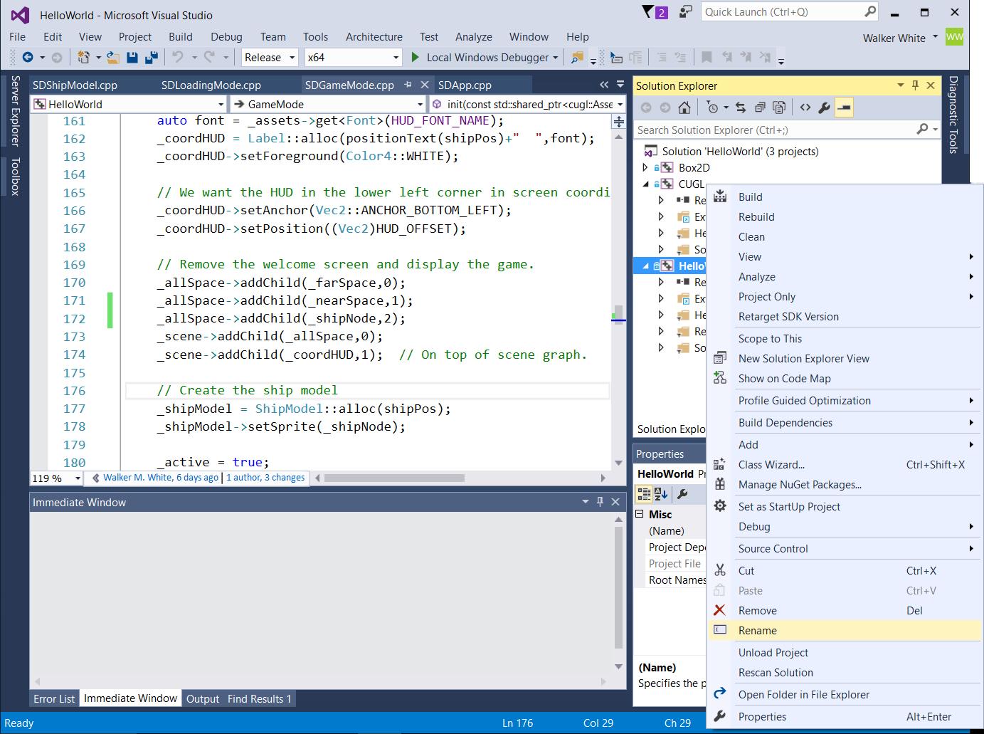 Csinfo 4152 advanced topics in computer game development windows rename fail ccuart Choice Image
