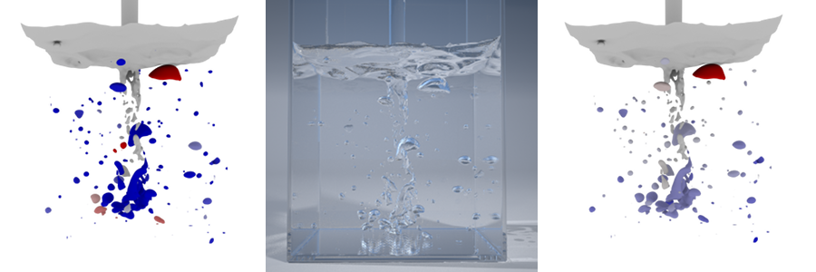 Toward Animating Water with Complex Acoustic Bubbles