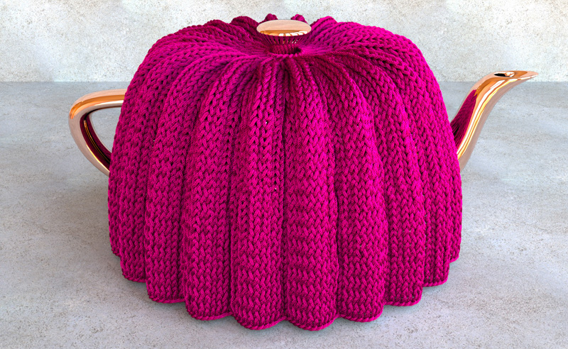 Small Tea Cosy Knitting Pattern : Stitch Meshes for Modeling Knitted Clothing with Yarn-level Detail