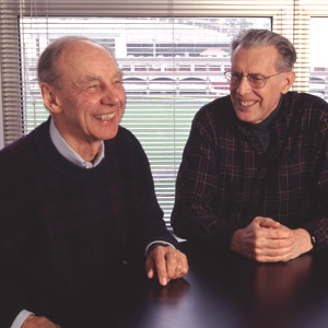 Turing Award Winners Juris Hartmanis and John Hopcroft