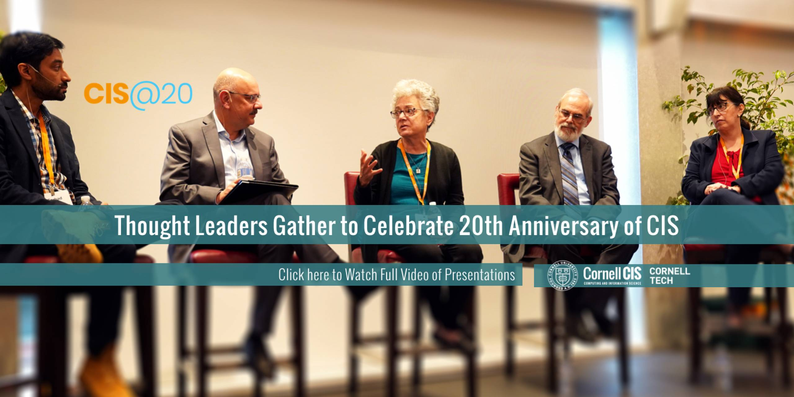 Thought Leaders Gather to Celebrate 20th Anniversary of CIS