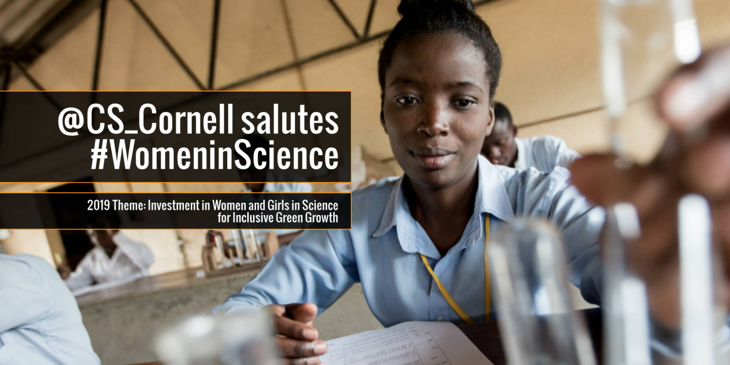 @CS_Cornell Salutes #WomaninScience