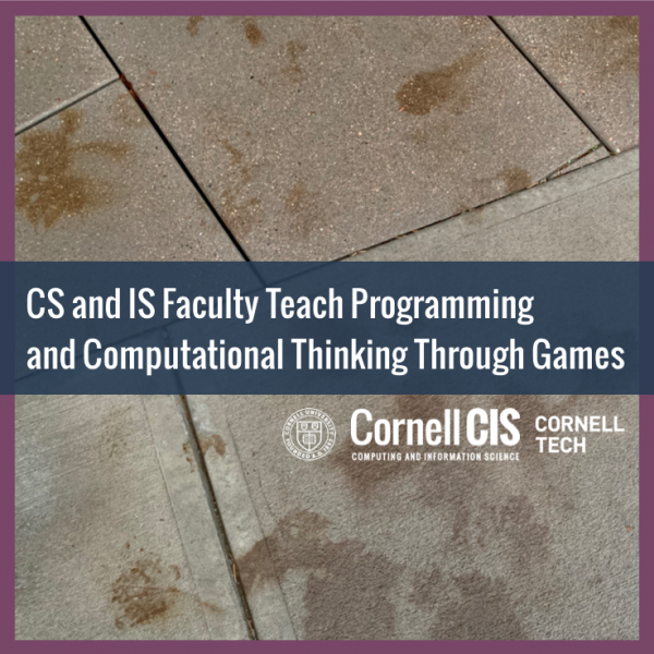 CS and IS Faculty Teach Programming and Computational Thinking Through Games
