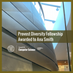Provost Diversity Fellowship Awarded to Ana Smith