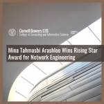 Mina Tahmasbi Arashloo Wins Rising Star Award for Network Engineering