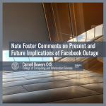 Nate Foster Comments on Present and Future Implications of Facebook Outage