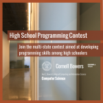 Cornell University High School Programming Contest