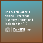Dr. LeeAnn Roberts Named Director of Diversity, Equity, and Inclusion for CIS