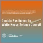 Daniela Rus Named to White House Science Council