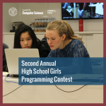 second annual girls high school programming contest