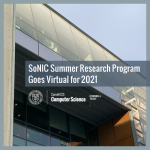 SoNIC Summer Research Program Goes Virtual for 2021