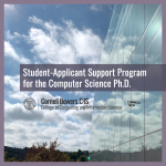 Student-Applicant Support Program for the Computer Science Ph.D.
