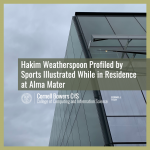 Hakim Weatherspoon Profiled by Sports Illustrated While in Residence at Alma Mater