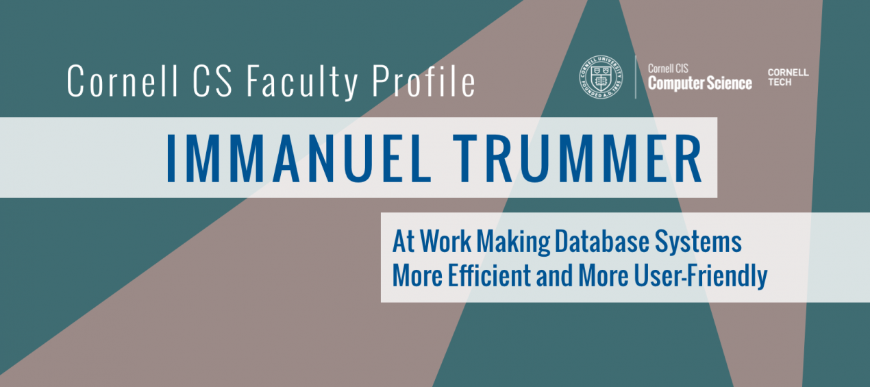 Faculty Profile: Immanuel Trummer